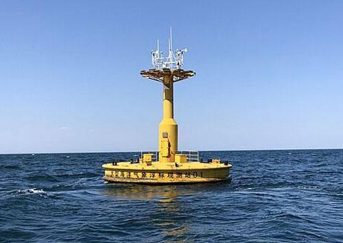 广东大型海洋气象浮标